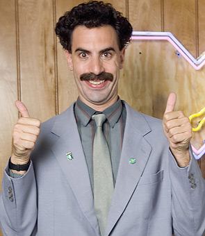 Borat-high-five