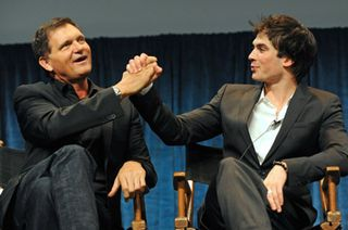 Kevin Williamson and Ian Somerhalder at PaleyFest