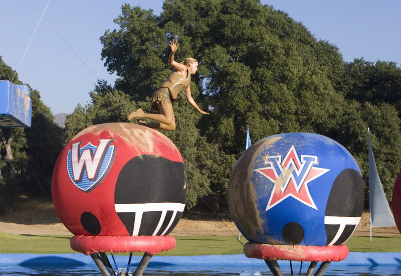 "star-studded episode of the summer obstacle-course hit ""Wipeout"